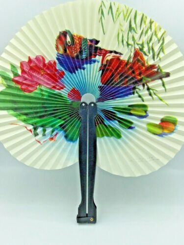Asian Chinese Japanese Flowers & Birds Hand Fan Ships Free