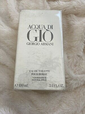 Giorgio Armani Acqua Di Gio Eau De Toilette For Him 3.4oz | New W/ Fast Ship!
