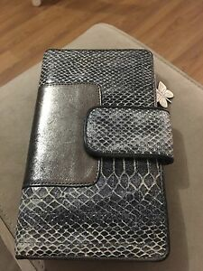 Spencer & Rutherford Snake & Leather wallet Holland Park West Brisbane South West Preview