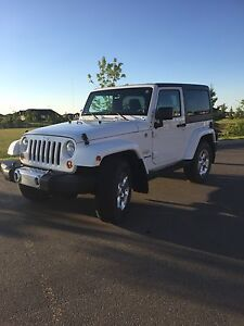 Immaculate 2013 Jeep Wrangler Sahara with only 19,200km