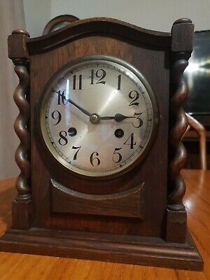 Antique German Bracket Clock
