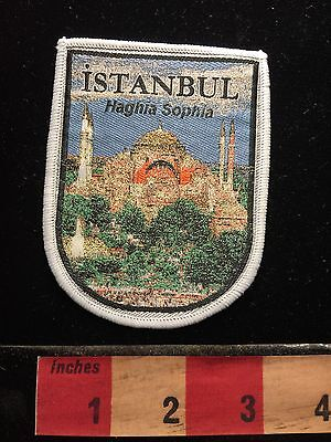 Haghia Sophia INSTANBUL TURKEY Middle East Patch -Church Mosque Museum S60A