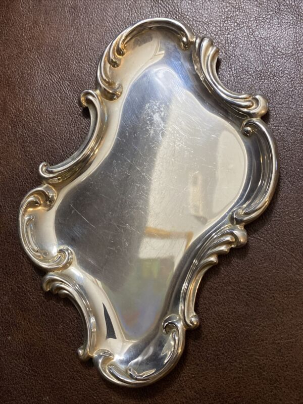 Sterling Silver Art Nouveau Dresser Tray Perfume Tray By Wallace