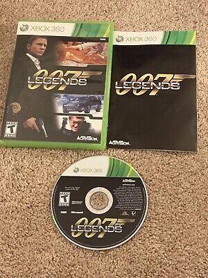James Bond 007 Legends Microsoft Xbox 360 Complete Case And Manual CIB