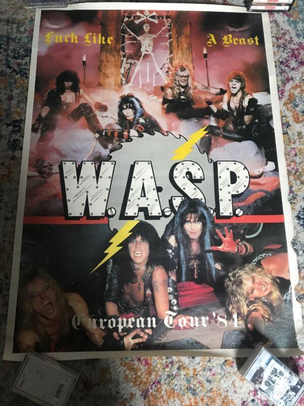 Rare Wasp W.A.S.P. 80
