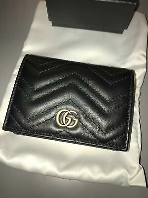 Gucci Marmont Small Quilted Leather Wallet - Brand New - RRP £295 -