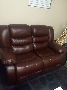 Leather recliner Aubin Grove Cockburn Area Preview
