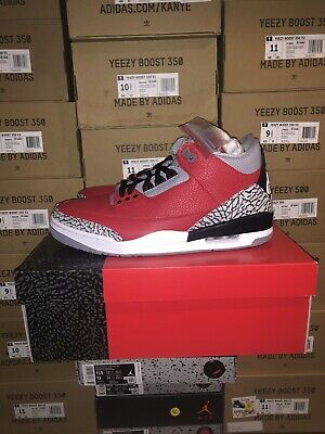 "Nike Air Jordan 3 Retro SE ""Unite""Fire Red"