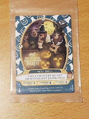 Disney Sorcerer Of The Magic Kingdom Card 2017 Country Bear Jamboree MNSSHP New