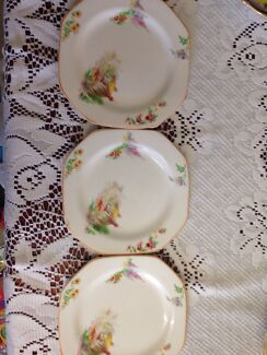 Alfred Meakin England Tea plates originals for sale x3  Redcliffe Redcliffe Area Preview