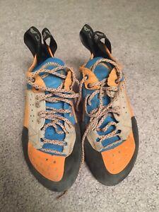 Scarpa techno x rock climbing shoes