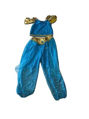 Princess Jasmine Aladdin Fancy Dress Disney Size Small Age 3 4 5