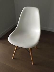 Selling 4 Eames replica chairs (matte white) North Melbourne Melbourne City Preview
