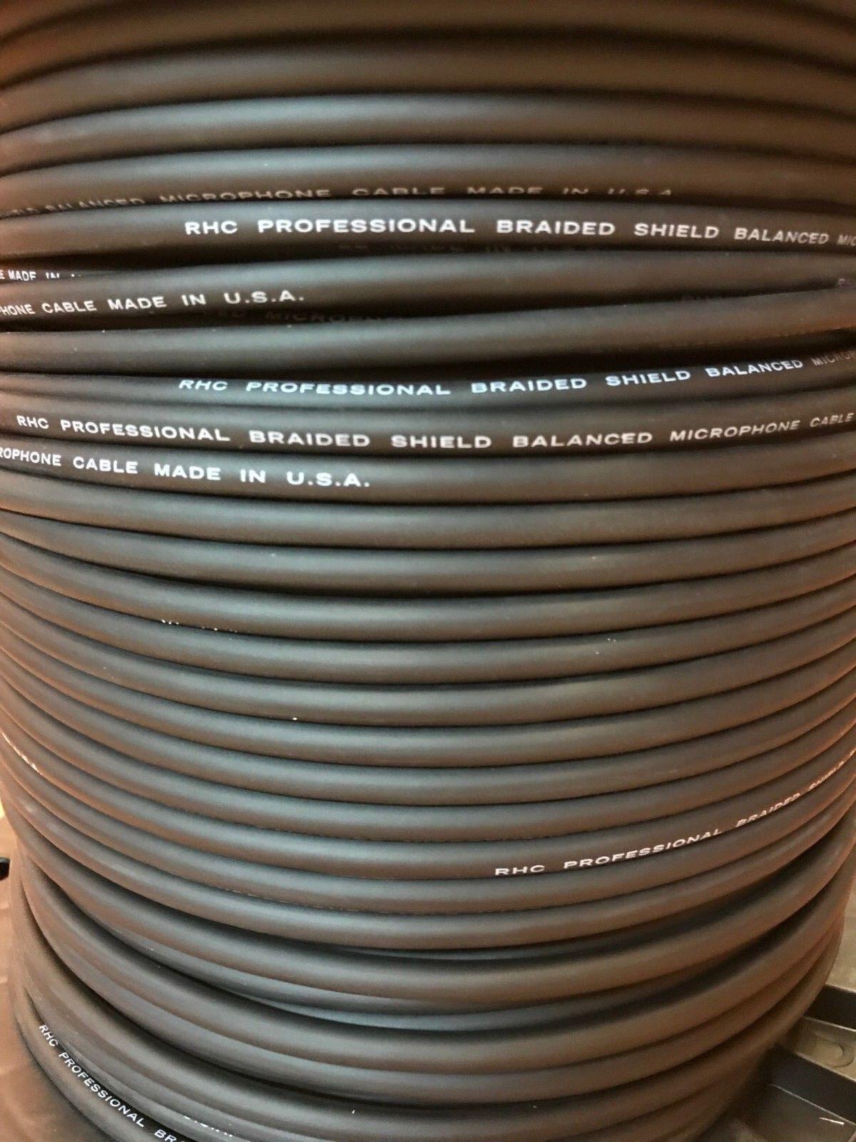 Horizon LO-Z5 MIC5.K 20 GA HIGH PERFORMANCE Microphone Bulk Cable 250 ft US-MADE