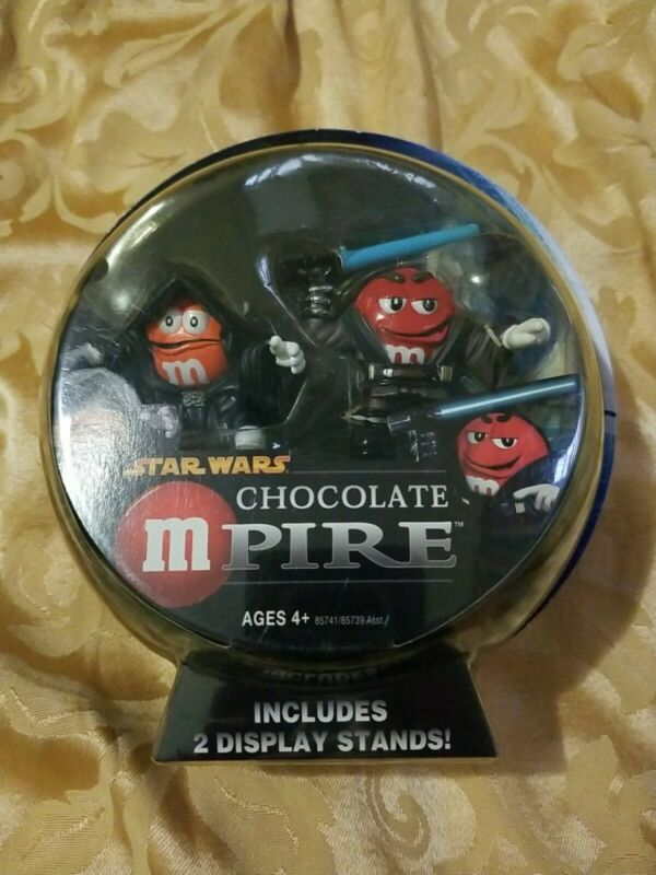 Hasbro Star Wars Chocolate mpire Anakin & Emperor Palpatine Action Figure M&M