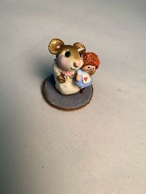 Wee Forest Folk Raggedy and Mouse M - 036 1979