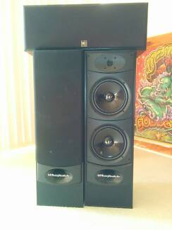 Wharfedale Valdus 400 Speakers and Central Speaker