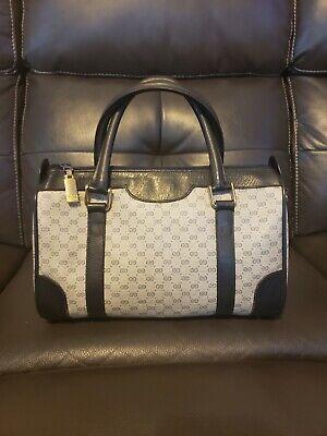 Authentic Gucci Vintage Doctor Boston Handbag
