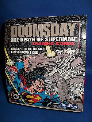 SUPERMAN DOOMSDAY - HOBBY BOX (36) NON SPORT PACKS - 1992 SKY BOX