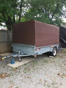 6x10 Galvanized covered trailer 2007