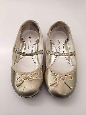 Nordsturm Kleinkind Mädchen Goldschleife Ballett Flache Schuhe Ballerina (Ballett Flach Kind Schuhe)