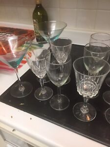 Variety of glasses 20 in total