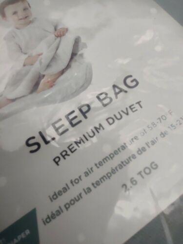 33.  GUNAMUNA Baby Sleep Bag Bamboo,Sage Color , Premium Duvet Sack,18-24 mo