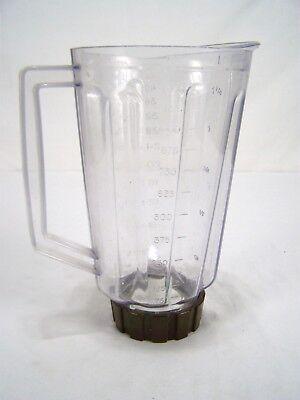 Mixer Krug 5.5 Schalen Klare Braun Basis Kunststoff 9