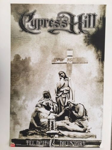 CYPRESS HILL,TILL DEATH DO US APART,RARE AUTHENTIC,LICENSED 2004 POSTER