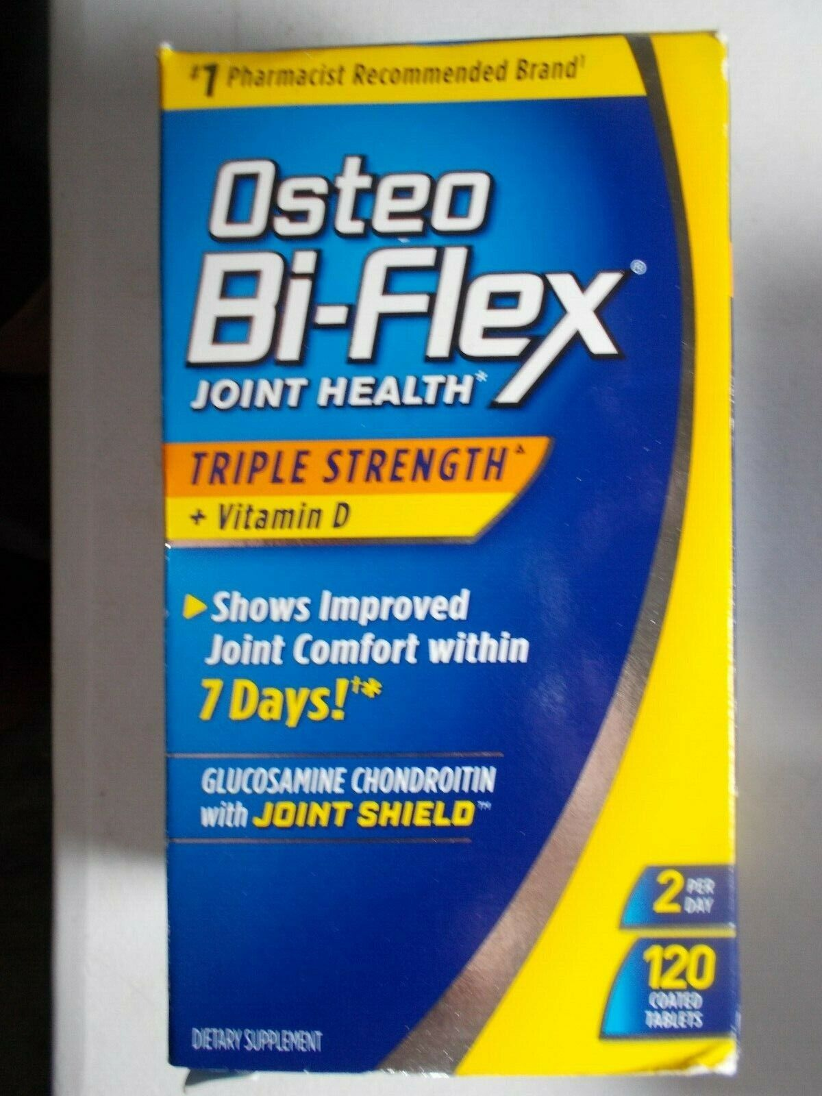 Osteo Bi-Flex Joint Health, Triple Strength with Vitamin D,