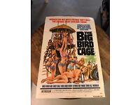 THE BIG BIRD CAGE MOVIE POSTER Women so Hot RARE NEW