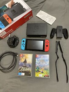 Nintendo Switch with 2 games GREAT CONDITION