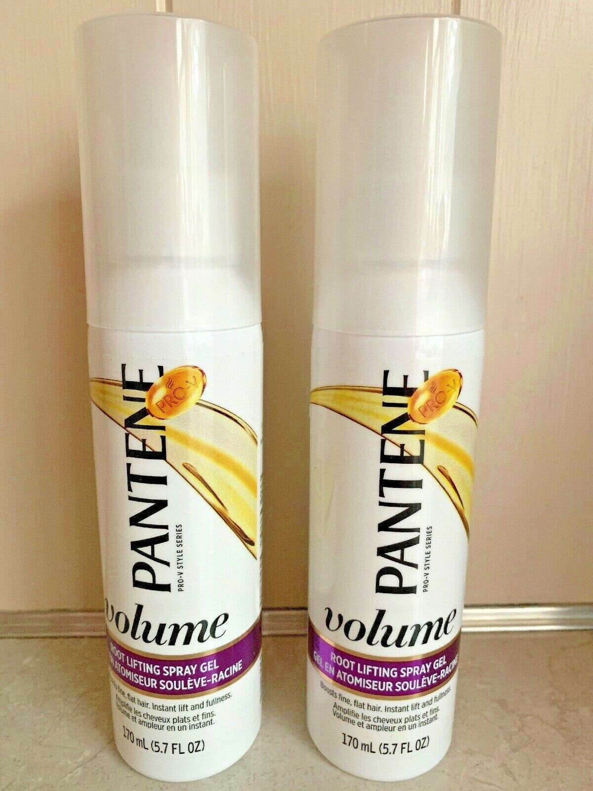 2 Pantene Pro V Style Volume Root Lifting Spray Gel For Fine