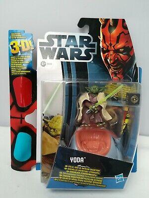 STAR WARS Star Wars 3D-Serie mit Brille Yoda 38593 Figur 10 cm Hasbro