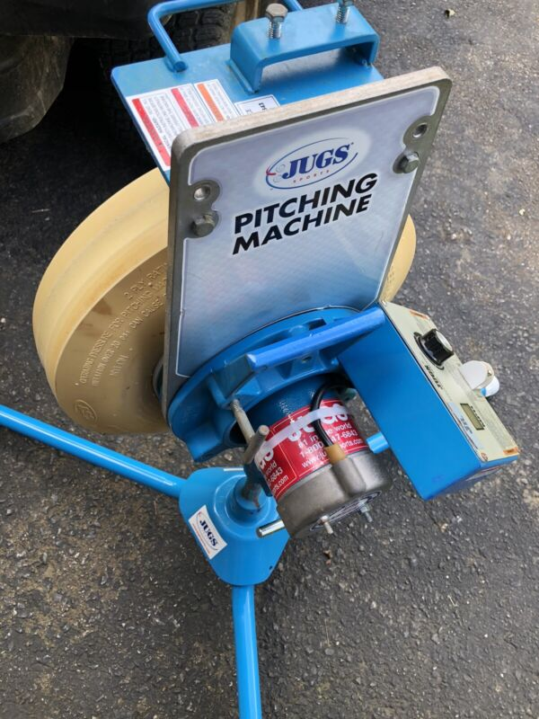 AWESOME JUGS JR COMBO PITCHING MACHINE W/ FACTORY WARRANTY AWESOME TRAINING TOOL
