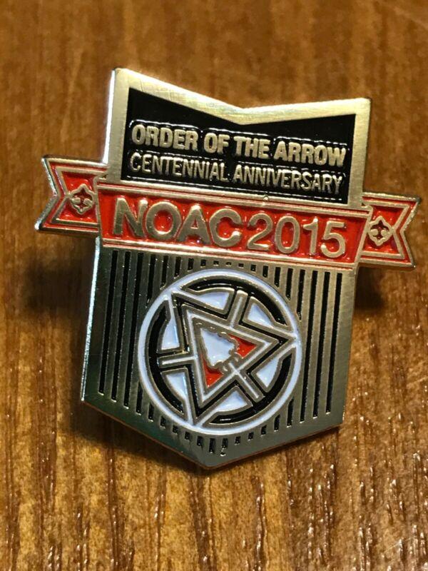 Order of The Arrow Centennial Anniversary NOAC 2015 - Centennial OA Pin