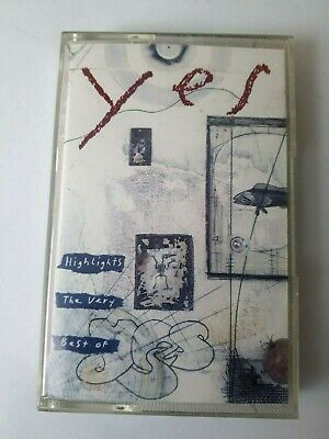 Yes Highlights The Very Best Of Yes Cassette 1993 Made in Germany Brand New (Best Brands In Germany)