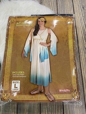 Athena Halloween Costume (Kangaroo Halloween Costume Athena Greek Goddess Costume Youth Large)
