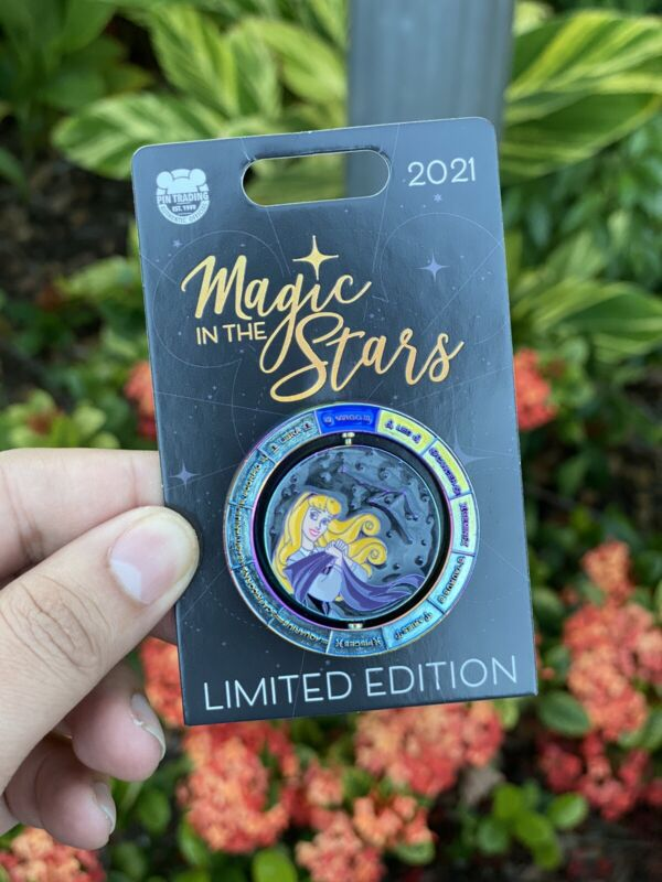 Disneyland Magic In The Stars - Aurora Pin - Virgo - LE 4,000 NEW