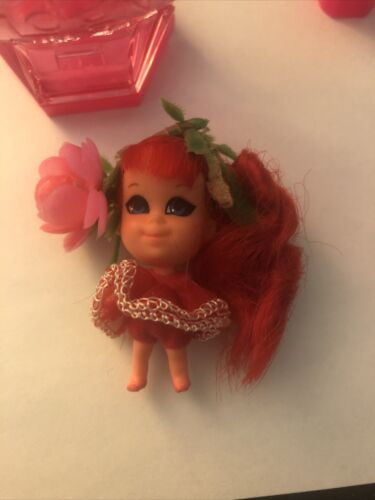 1967 Mattel Liddle Kiddle Kologne - Rosebud 3702, Bottle Doll, MINT No Stand - $60.00