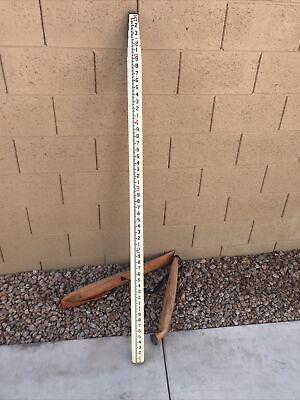 Crain Mound City 25ft Telescoping Leveling Rod Pole