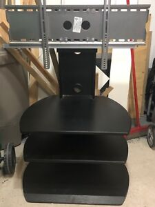 Free tv mounting table, ikea queen mattress and twin bed