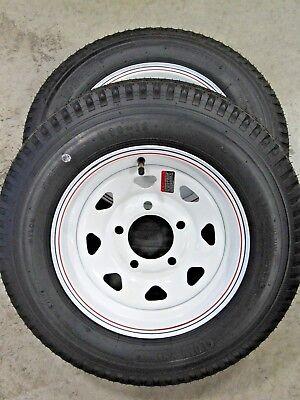 2* Loadstar 5.30-12 LRC Bias Trailer Tires on 12
