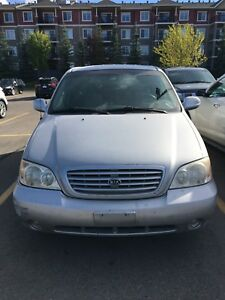 Low mileage Kia Sedona