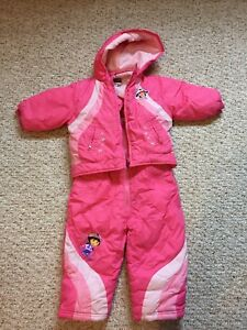 Girls size 18 months Dora snowsuit