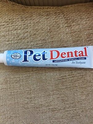 Four Paws Pet Dog Dental For Healthy Teeth Toothpaste Opened But Not Used