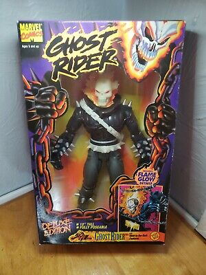 "Ghost Rider Deluxe Edition Marvel Comics 10"" Tall"