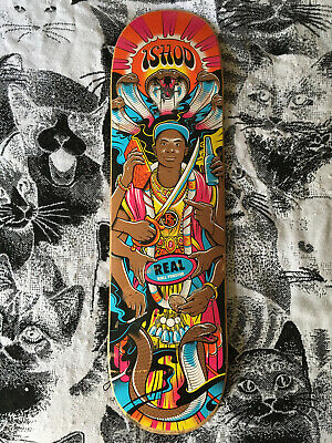 6bbee36765b Ishod Wair 'Experience' Real Skateboards 8.25 Skateboard Deck USED