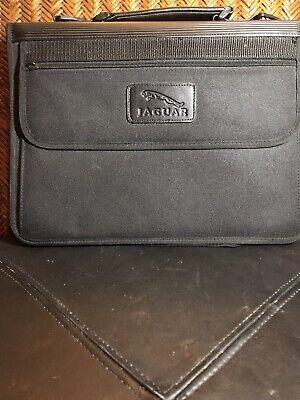 Jaguar Leather Business Organizer Portfolio Padfolio