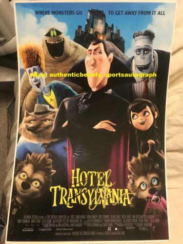 HOTEL TRANSYLVANIA ADAM SANDLER SELENA GOMEZ ANDY SAMBERG SIGNED 12x18 REPRINT